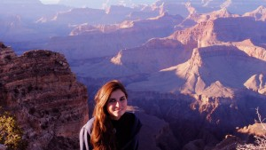 At the Grand canyon National Park